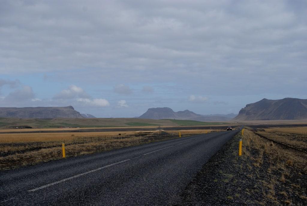 Strassen in Island