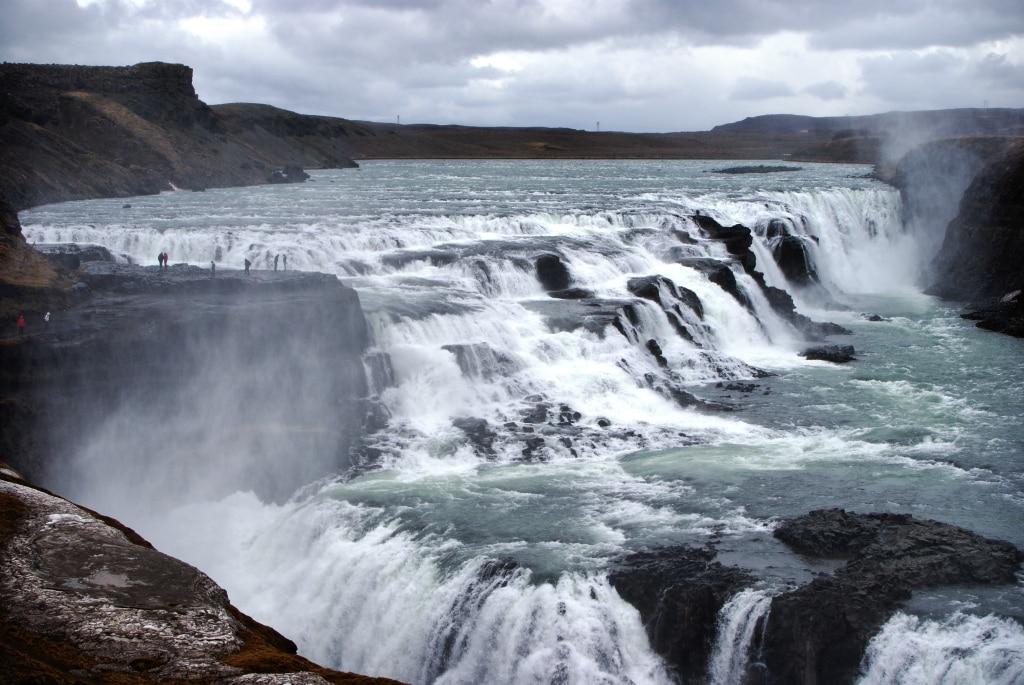 Reisebericht Island: Wasserfall Gullfoss