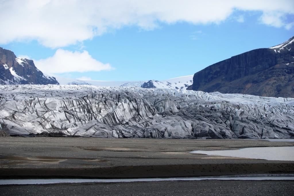 Sightseeing in Island: Gletscher