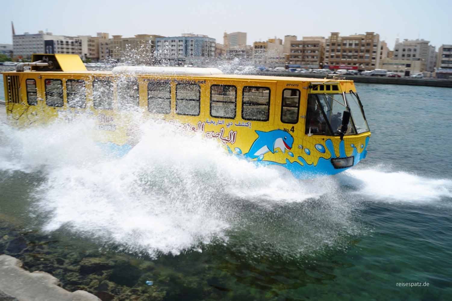 Dubai Wonder bus