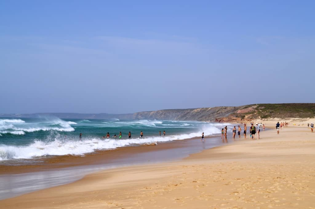 Praia da Bordeira, Algarve, Portugal.
