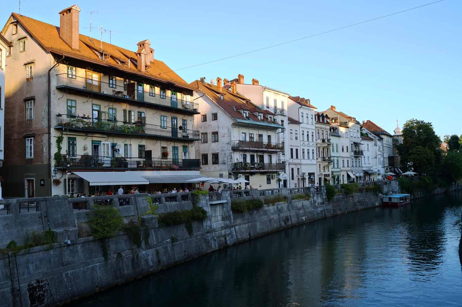 Slowenien Sehenswürdigkeiten - Ljubljana