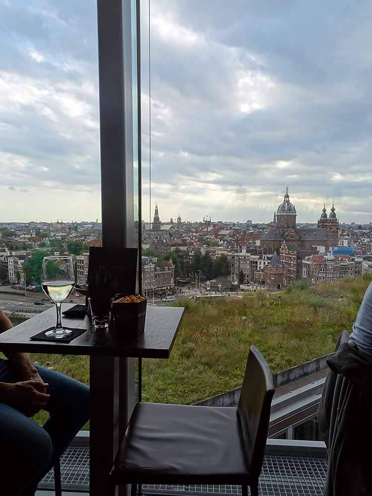 Rooftop Bar in Amsterdam