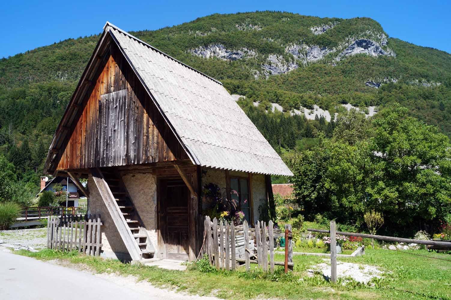 slowenien Sehenswürdigkeiten - Tal von Bohinj