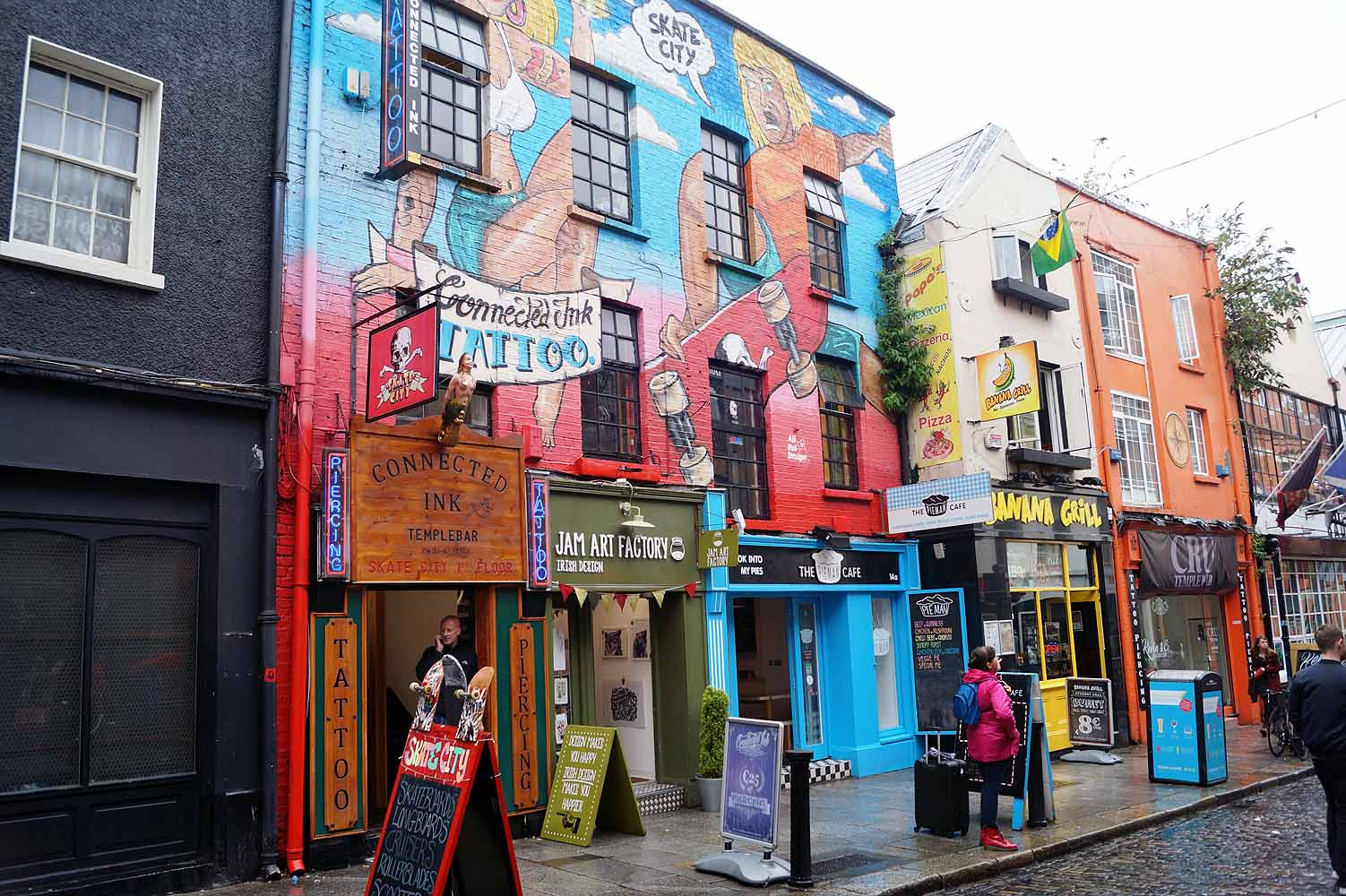Stadtviertel in Dublin - Temple Bar