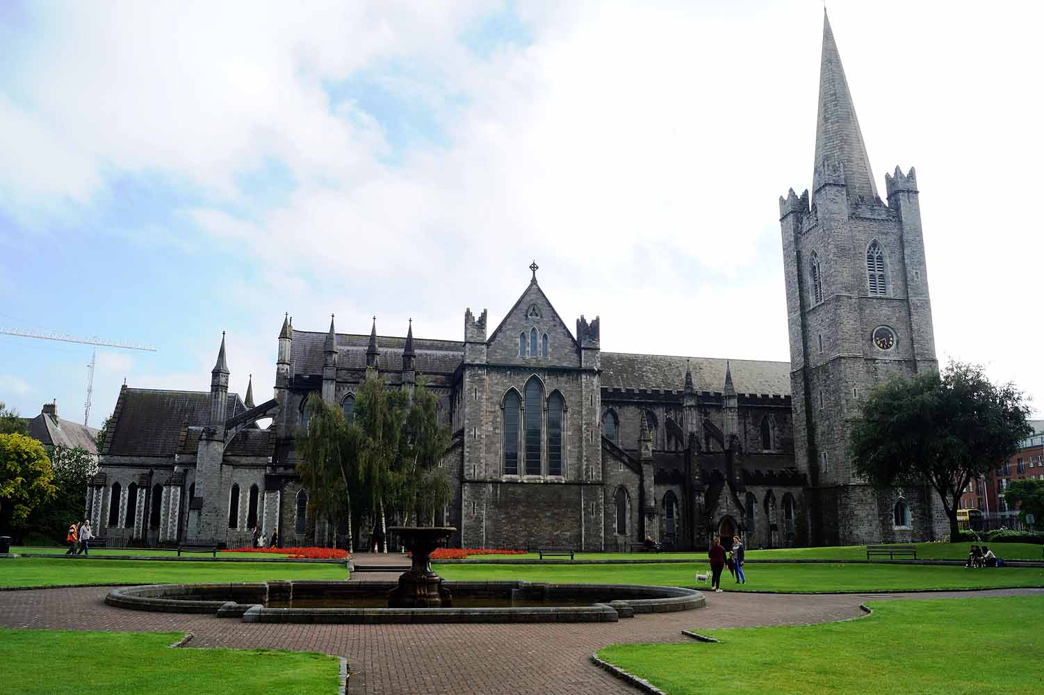 St. Patricks Cathedrale in Dublin