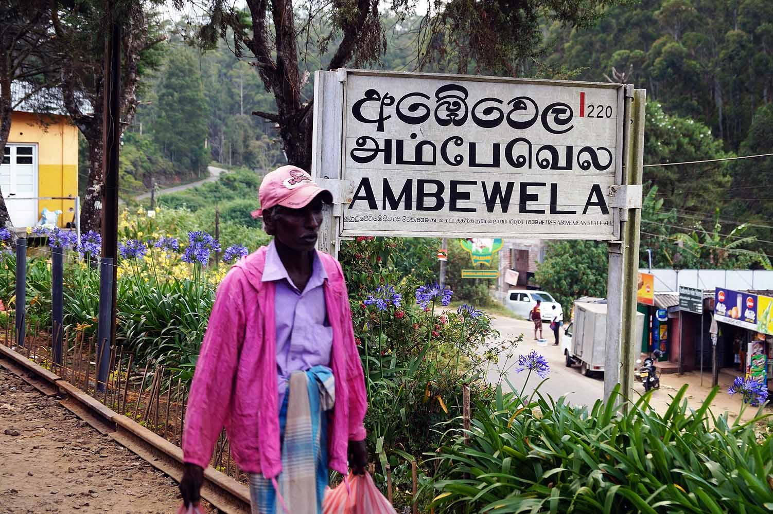 Bahnhöfe in Sri Lanka