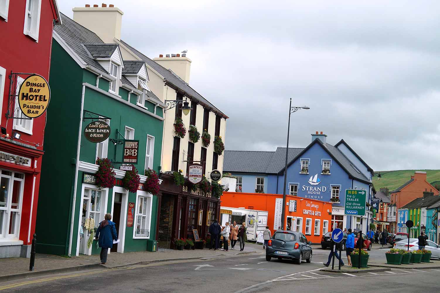 Dingle Stadt in Irland