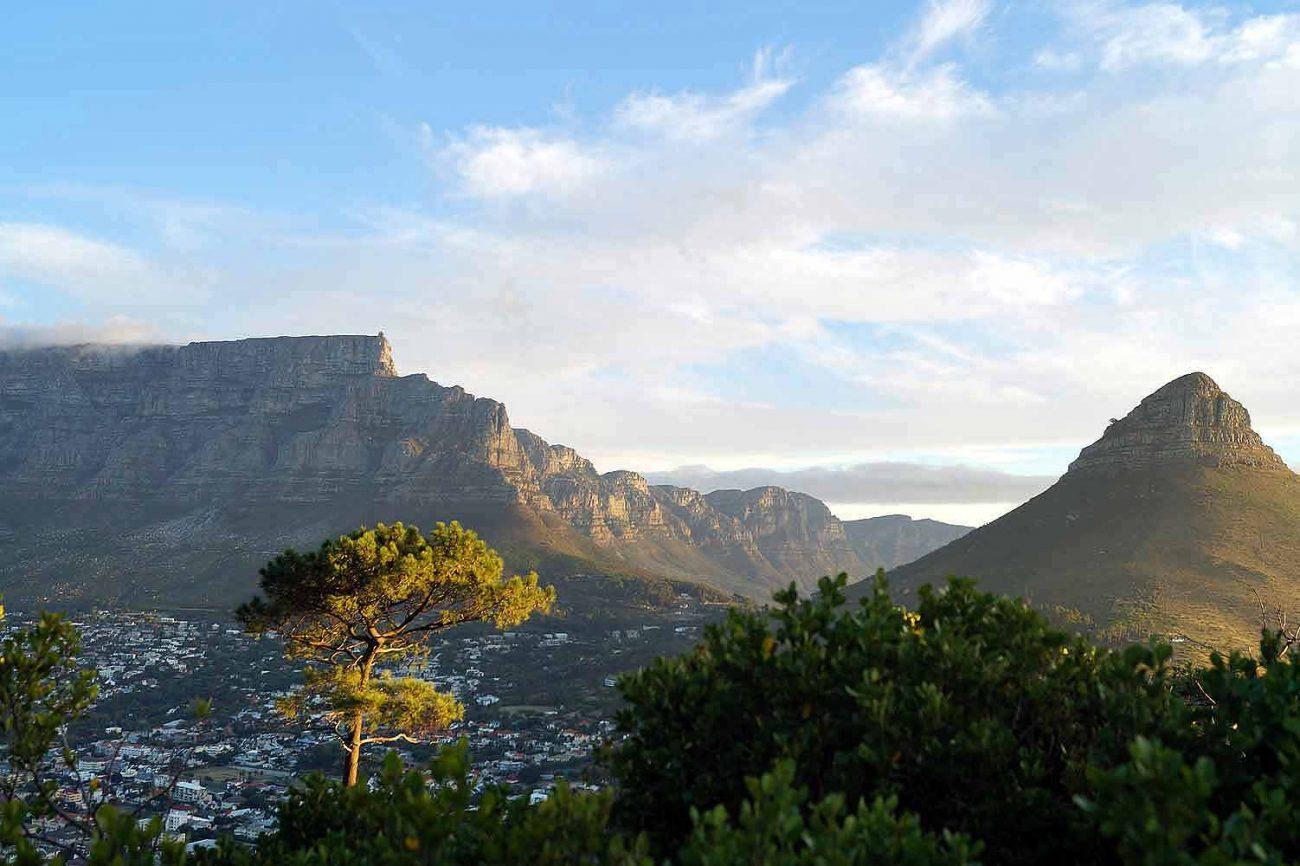 Blick vom Signal Hill auf Tafelberg