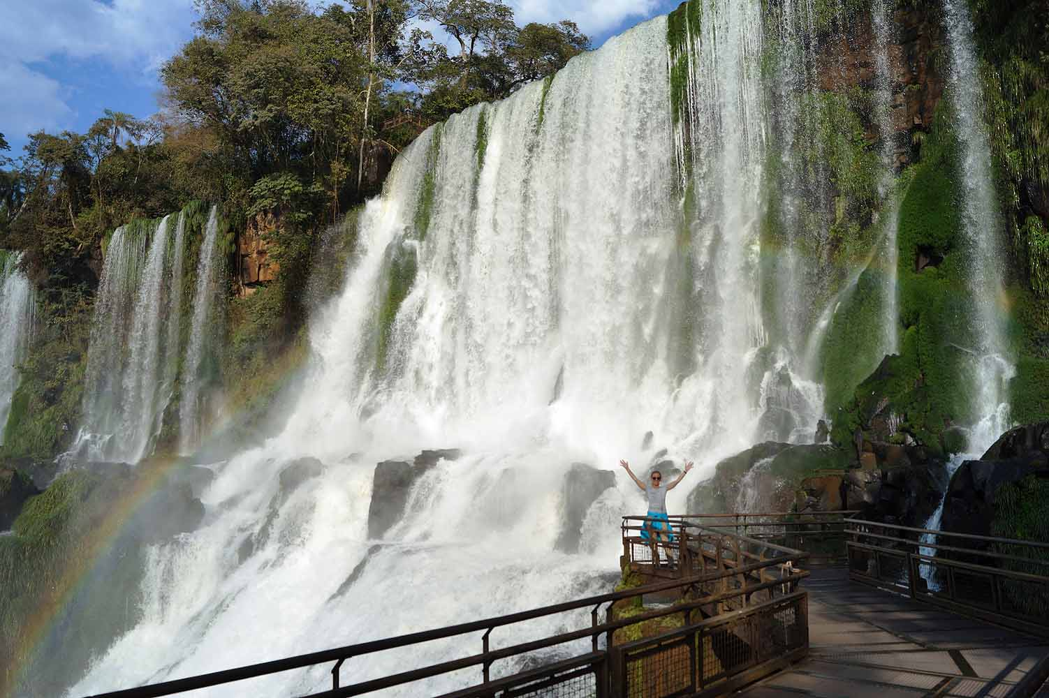 Blogger in Iguazu