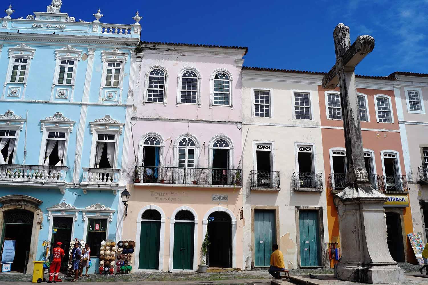 Häuser in der Altstadt Salvador da Bahia
