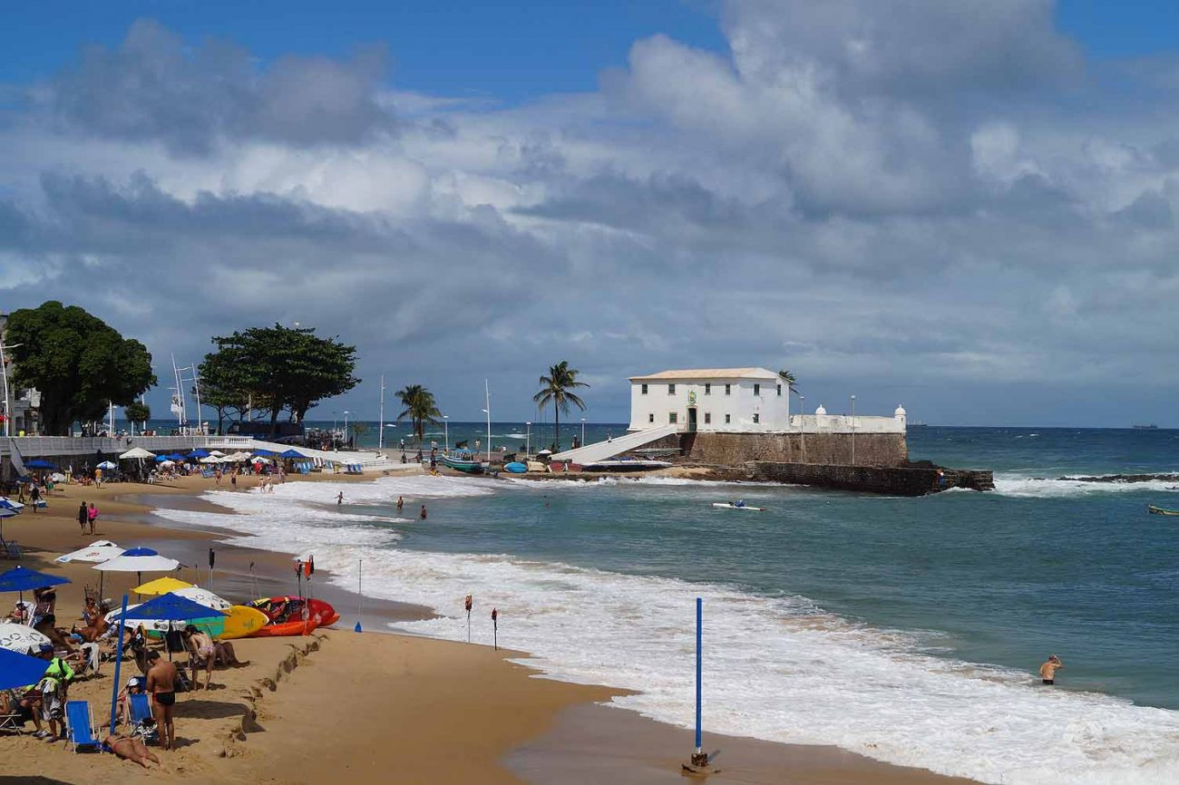 Barra in Salvador Brasilien