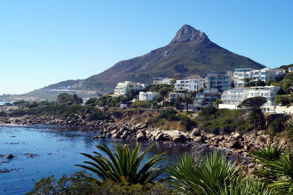 Camps Bay, Kapstadt Reiseroute