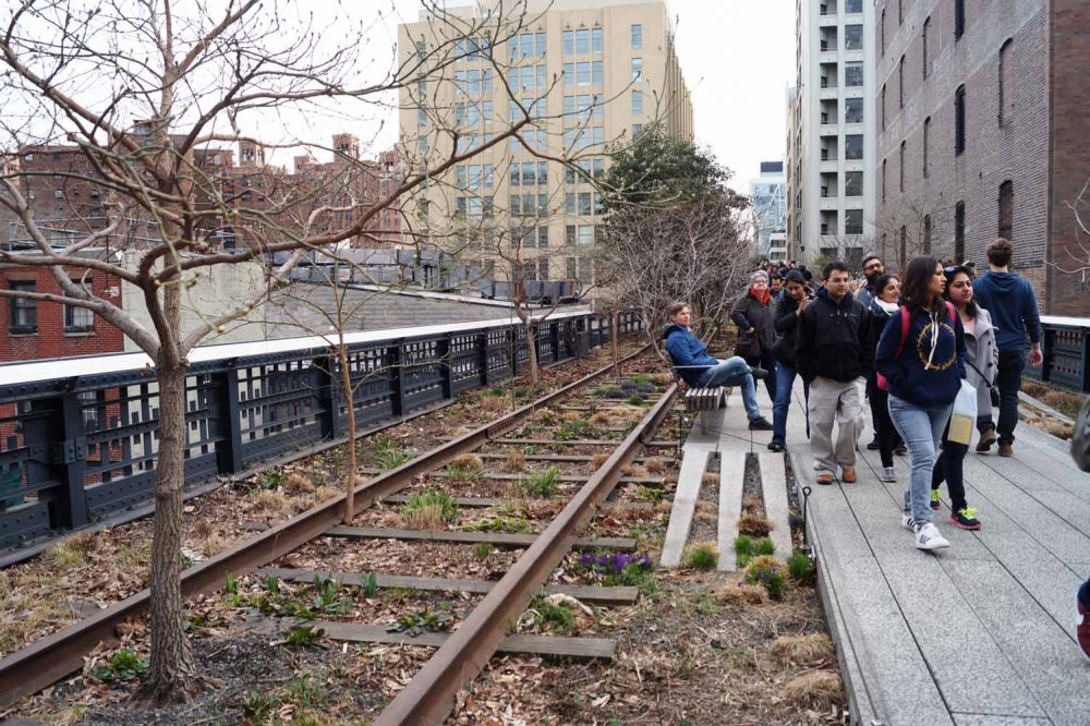 Highline Park, New York