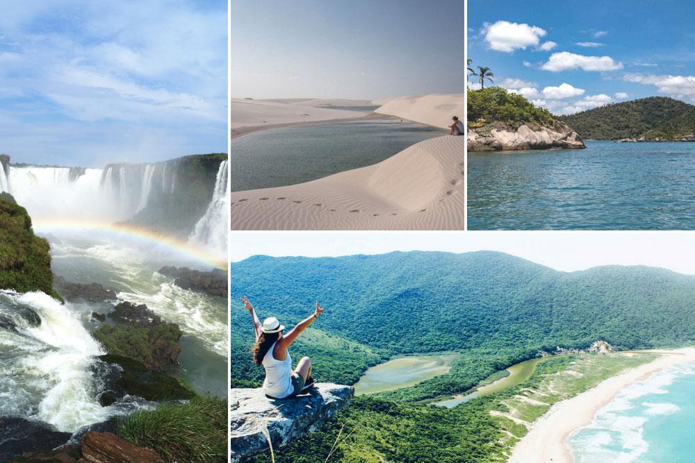 Reiseroute Brasilien – 4 spannende Möglichkeiten