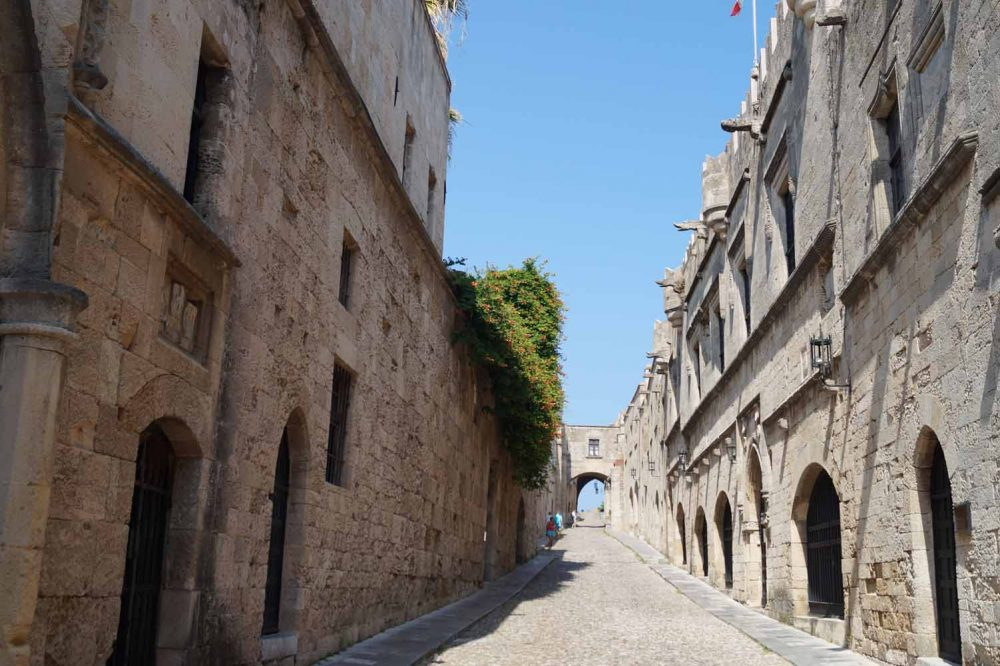 Rhodos Stadt Highlight: Rittergasse
