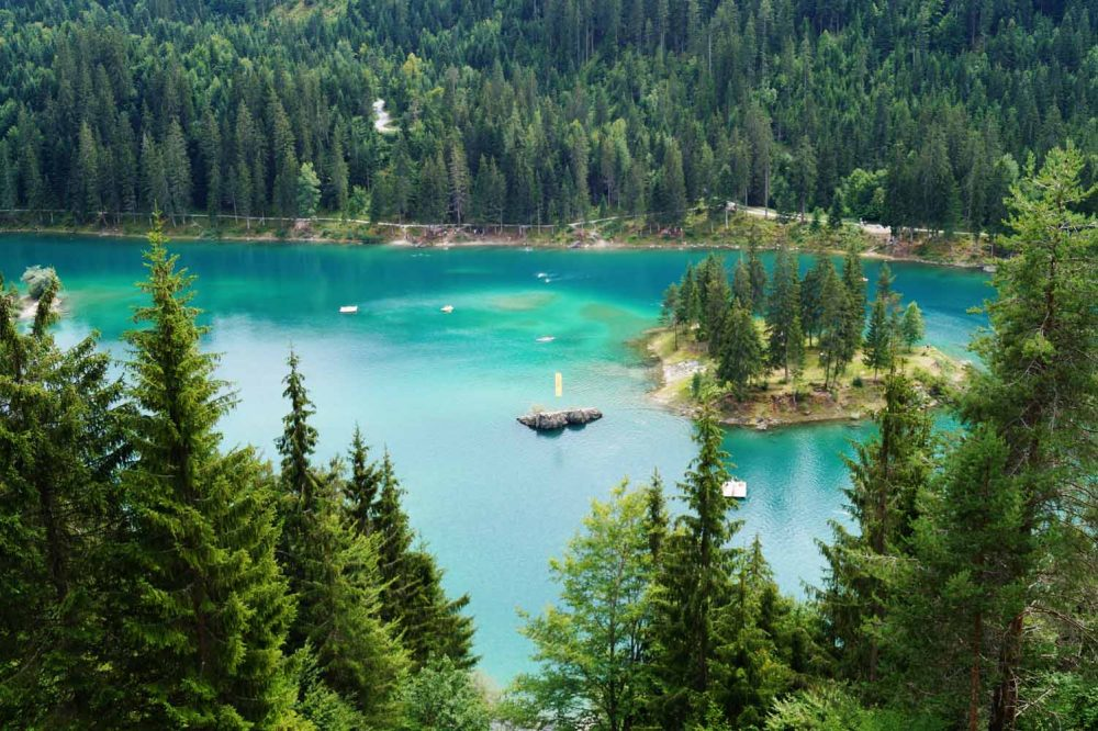 Caumasee in Flims