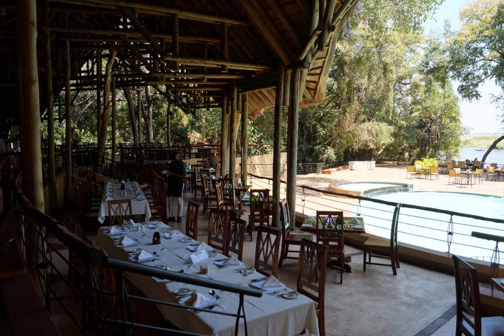 Restaurant Chobe Safari Lodge