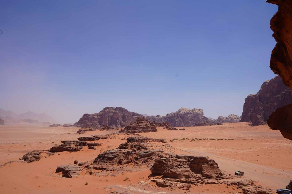 Highlight Wadi Rum in Jordanien