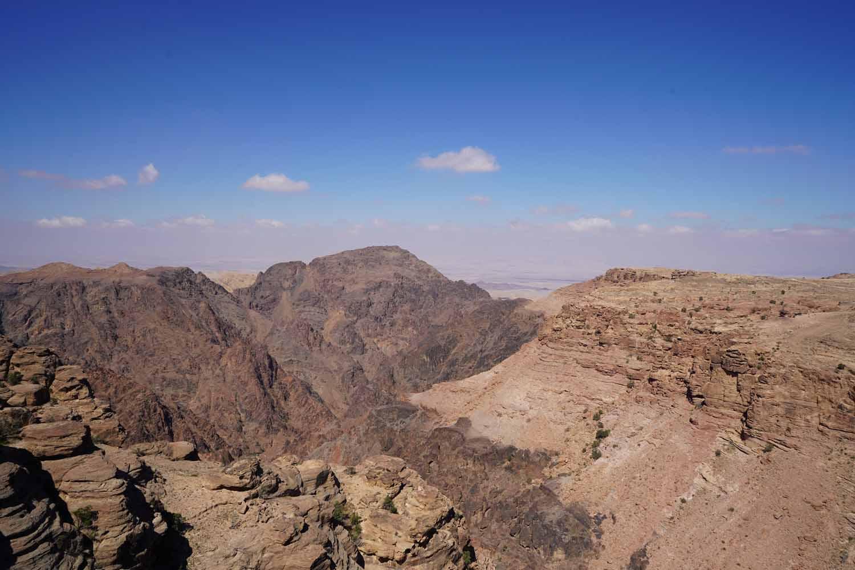 Landschaft von Jordanien