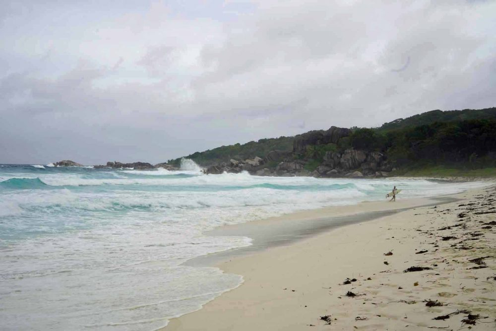Grand Anse, Strand La Digue