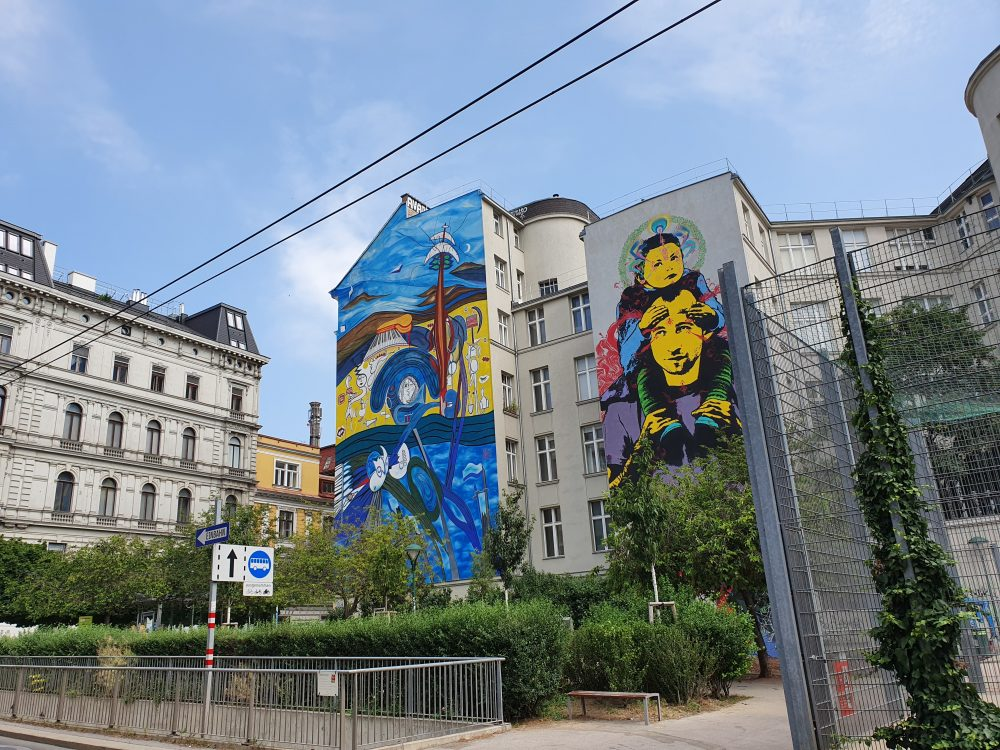 Street Art in Wien