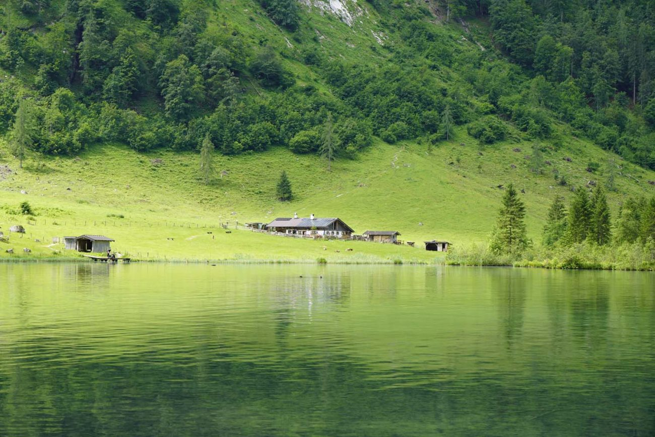 Fischunkenalm am Obersee
