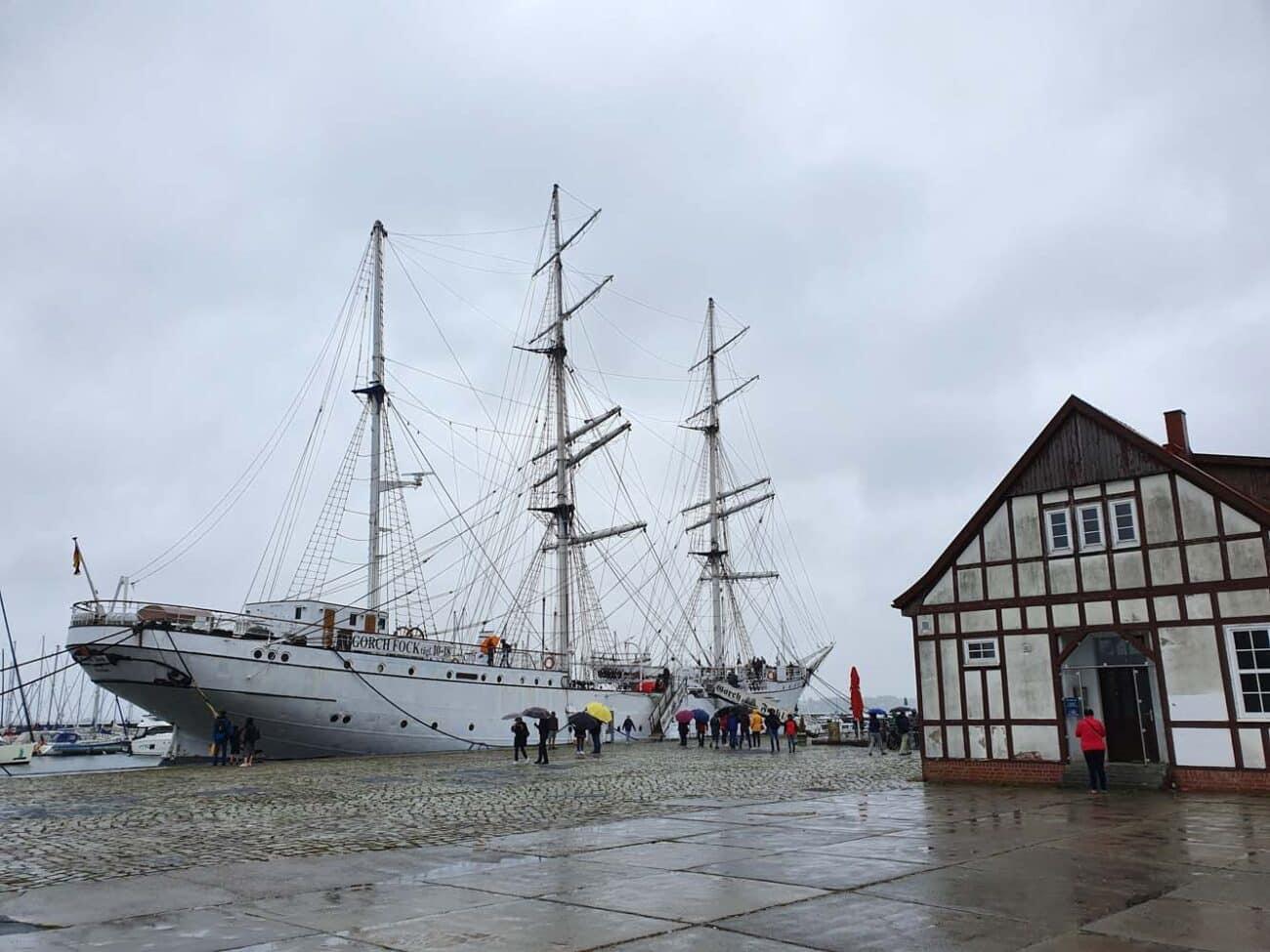 Gorch Fock I in Stralsund