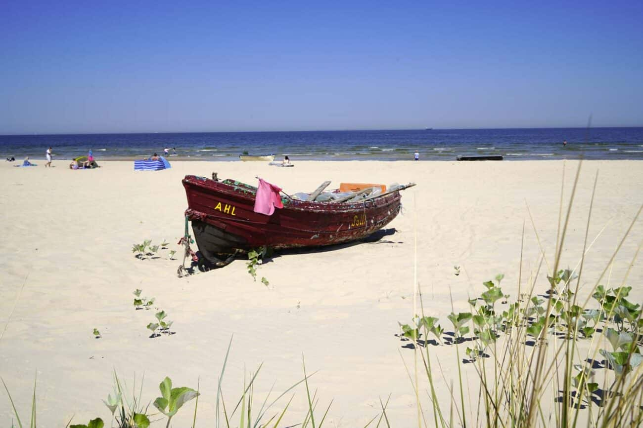 Strand in Ahlbeck, Usedom